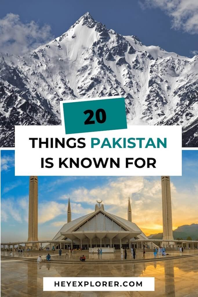what is pakistan known for