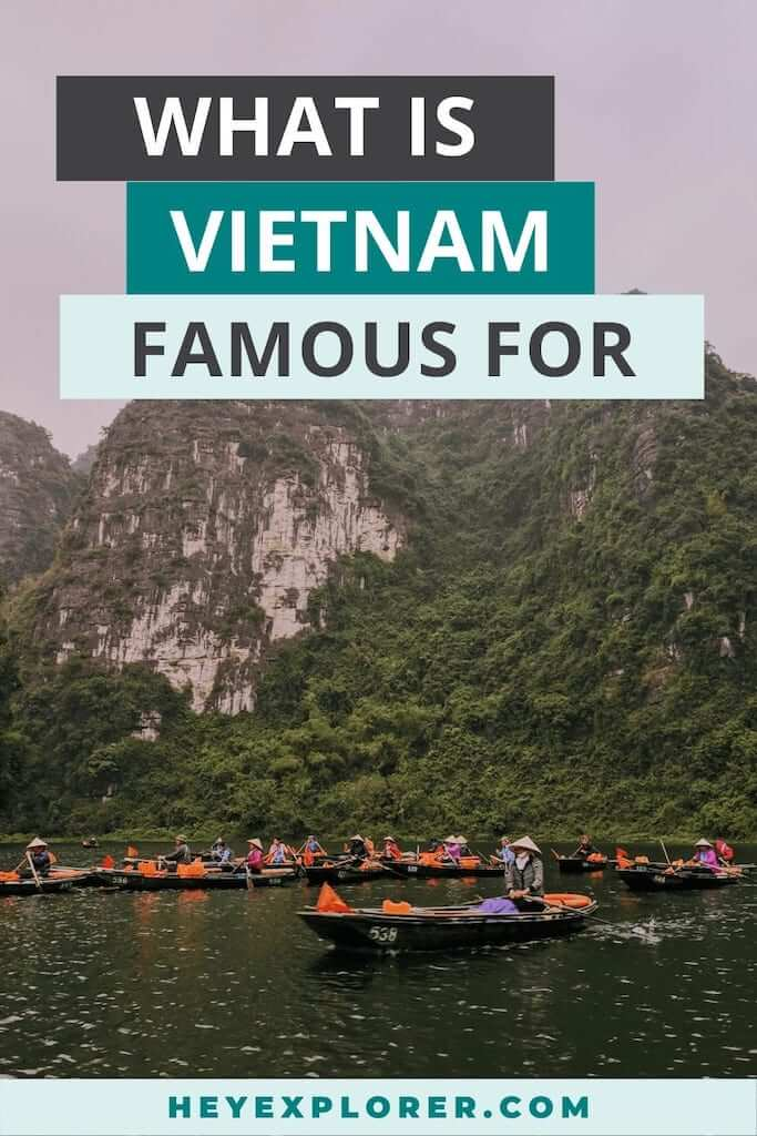 what is vietnam famous for