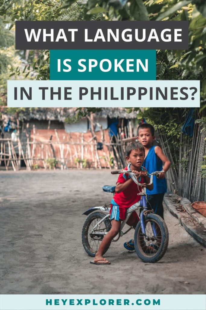 what language philippines