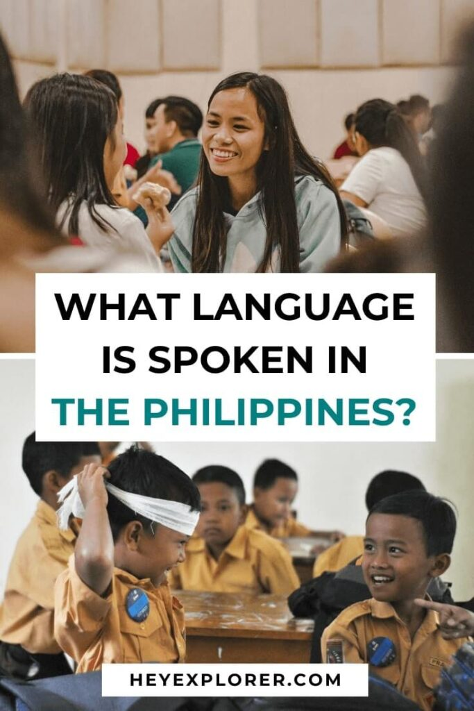 what language spoken in the philippines