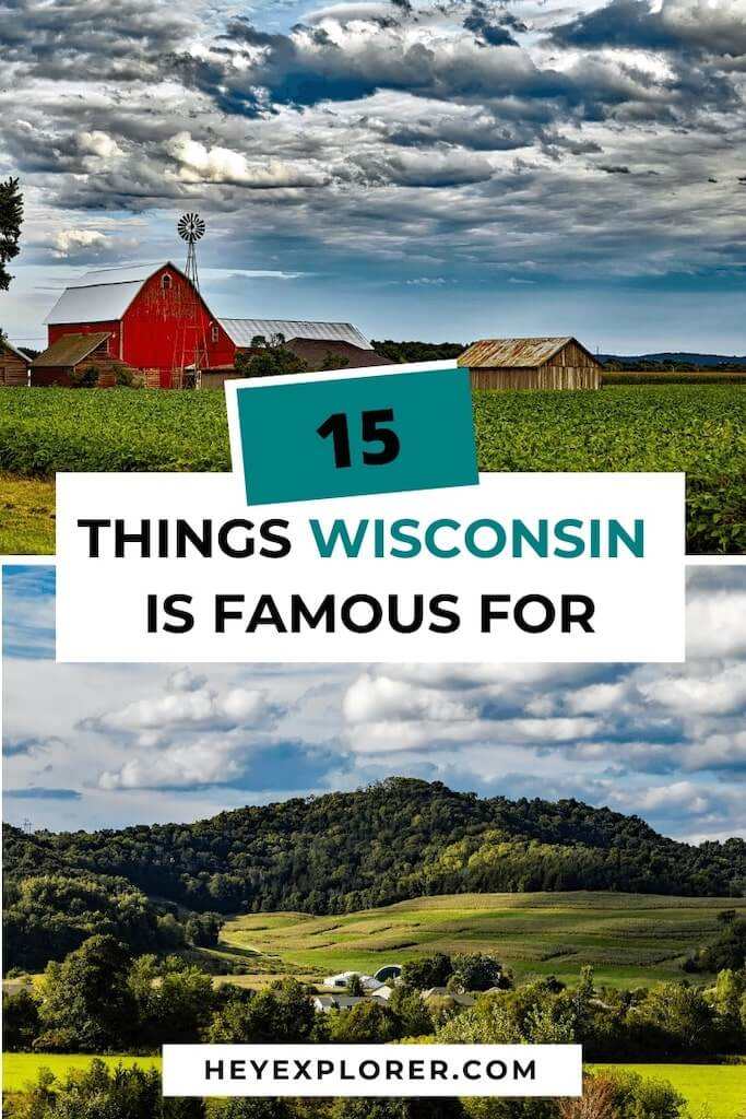 what wisconsin is famous for