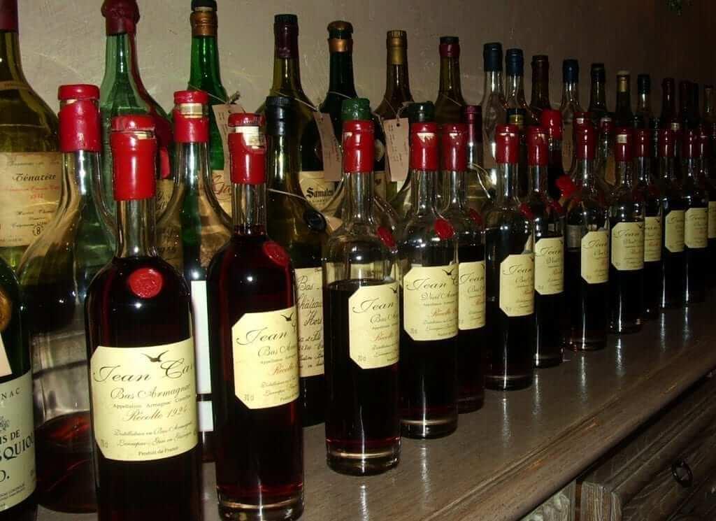 Armagnac liqueur