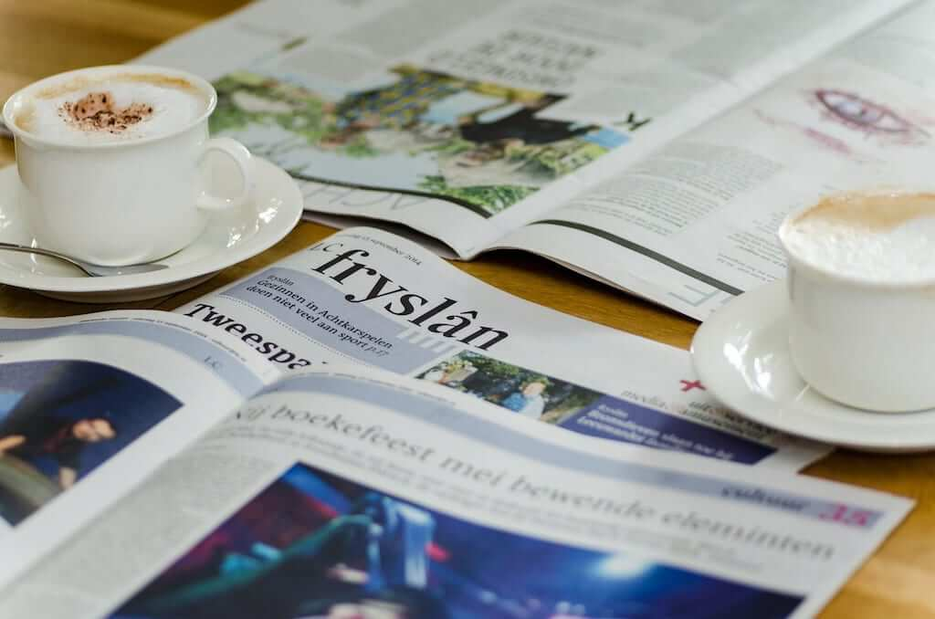 Fryslan newspaper