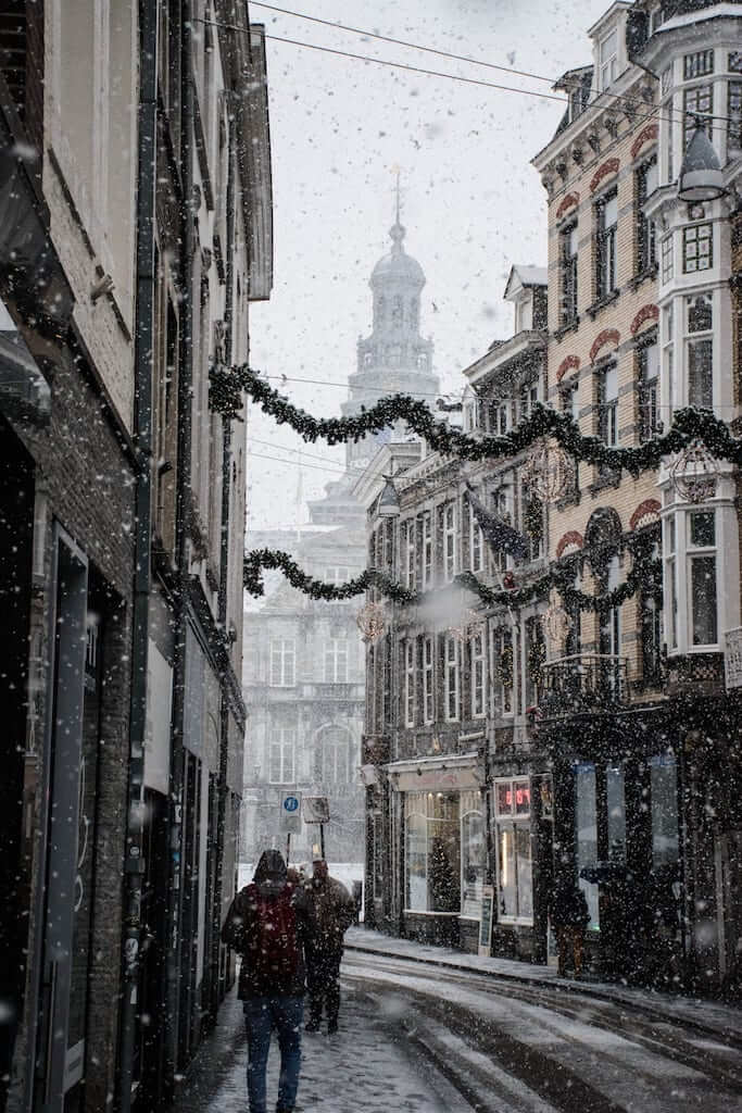 Maastricht christmas deco