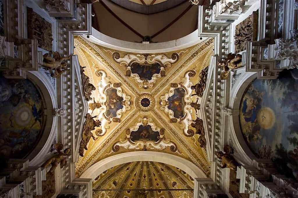 Basilica dei Santi Giovanni e Paolo's ceilings