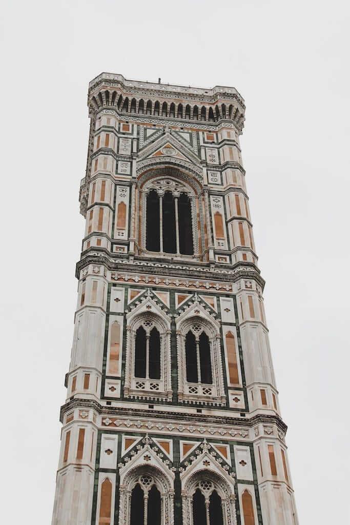 Campanille di Giotto at Piazza del Duomo, Florence