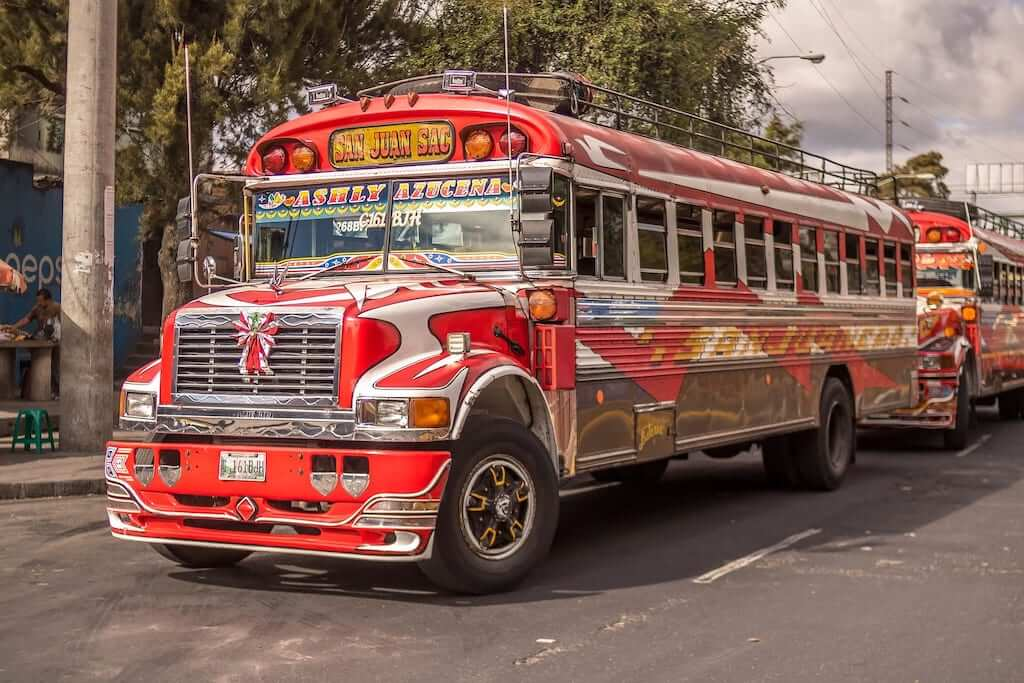 chicken buses