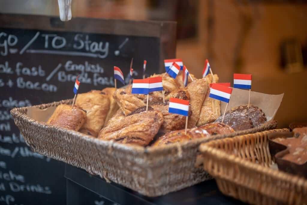dutch flag pastries