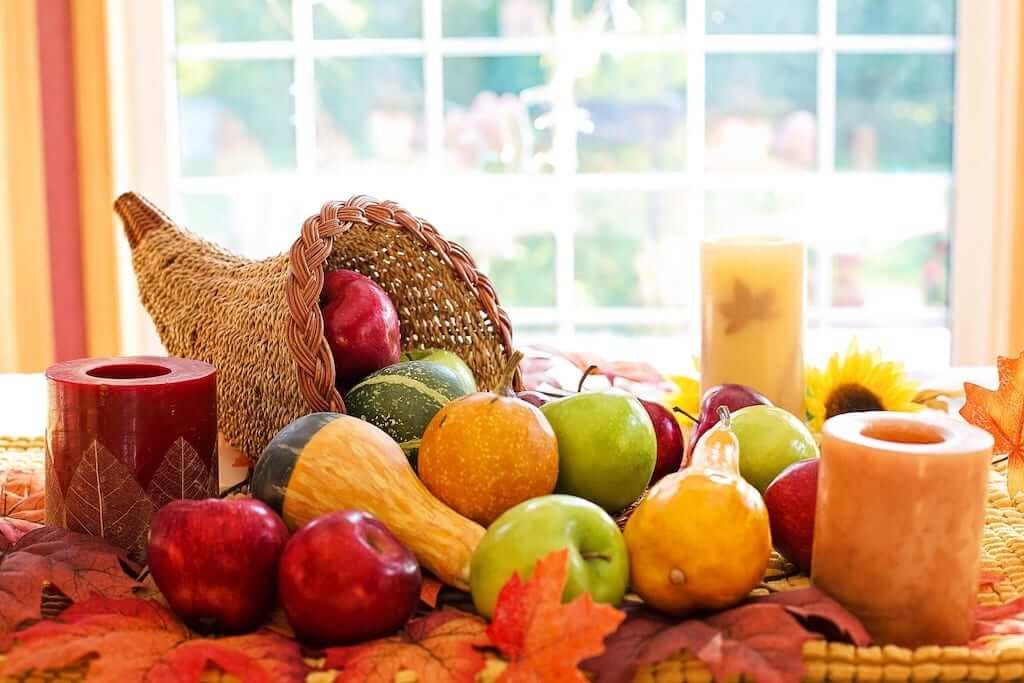 fruits thanksgiving