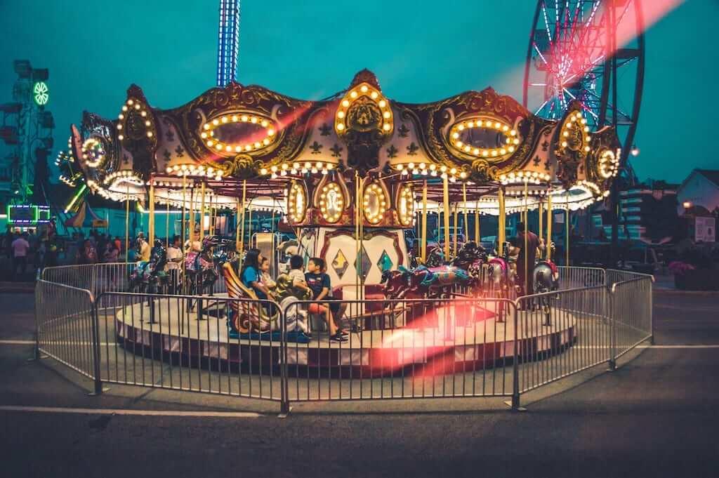 fun fair carousel