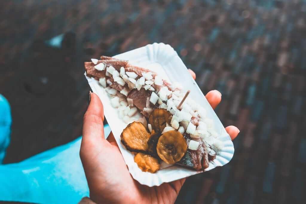 haring dutch food