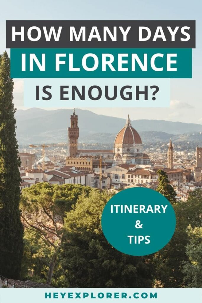 how many days in florence