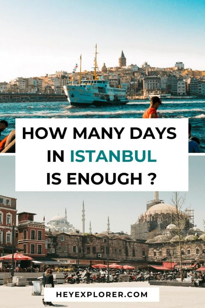 how many days in istanbul
