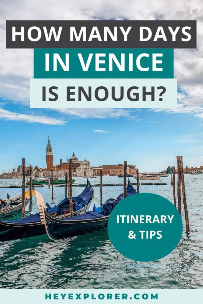 how many days in venice
