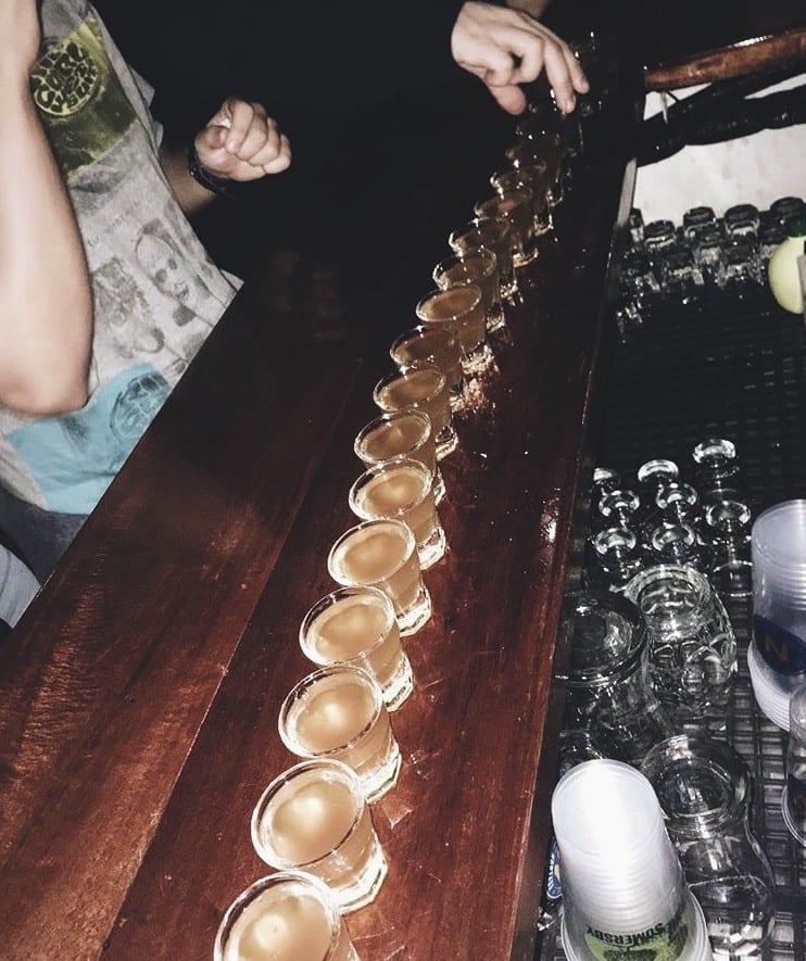 Tapas Bar 24 hydromel shots