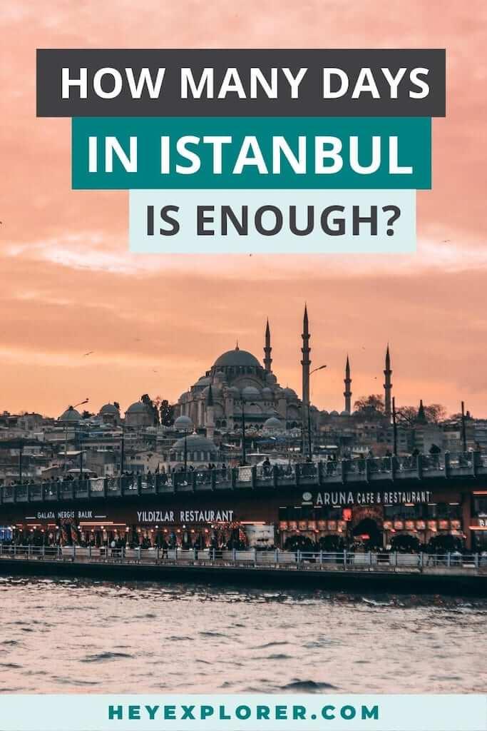 istanbul how many days