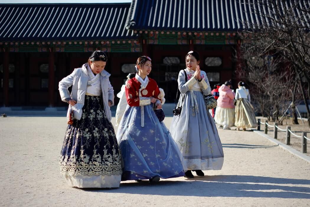 korean girls hanbok