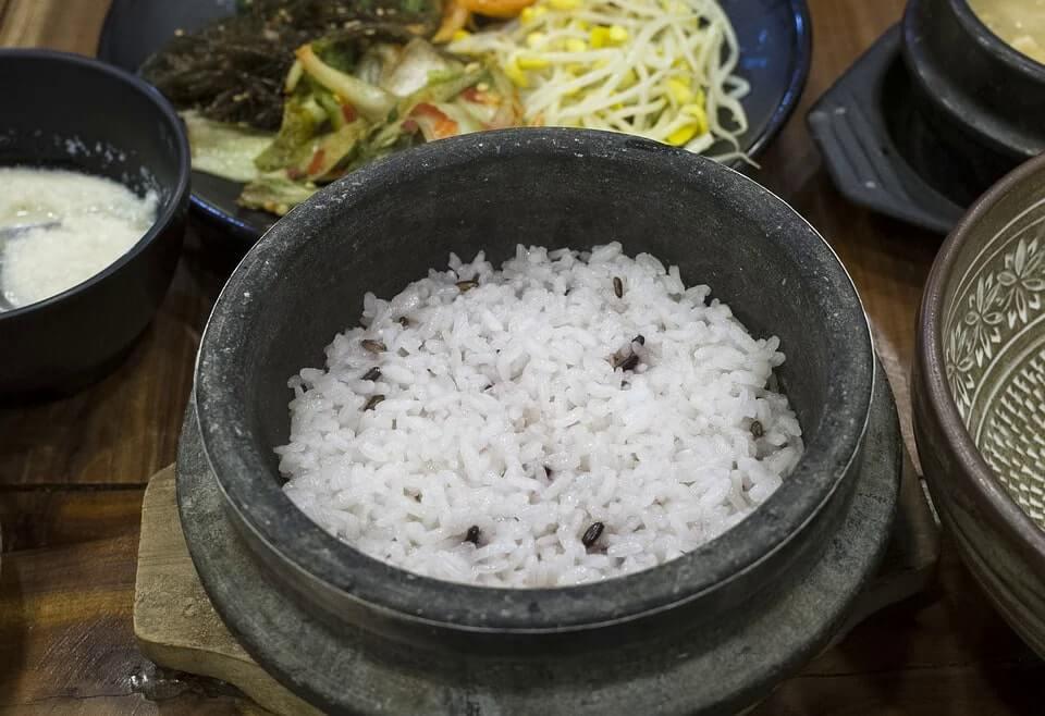 korean rice bap