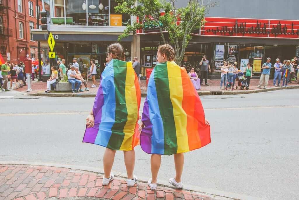 lgbt rainbow flag