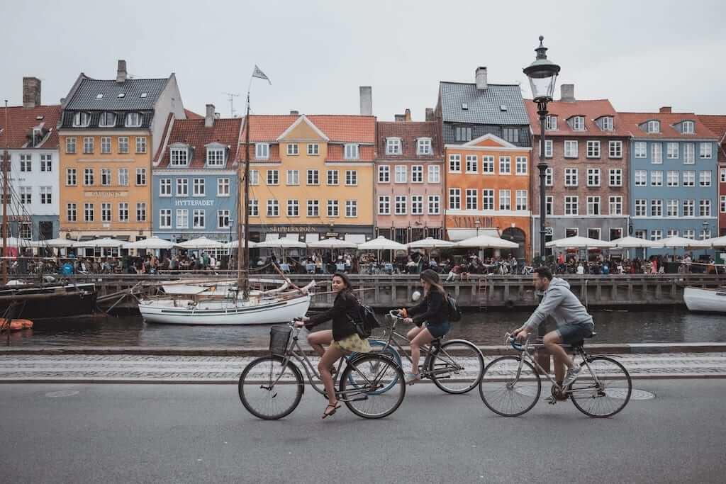 ride bicycle copenhagen