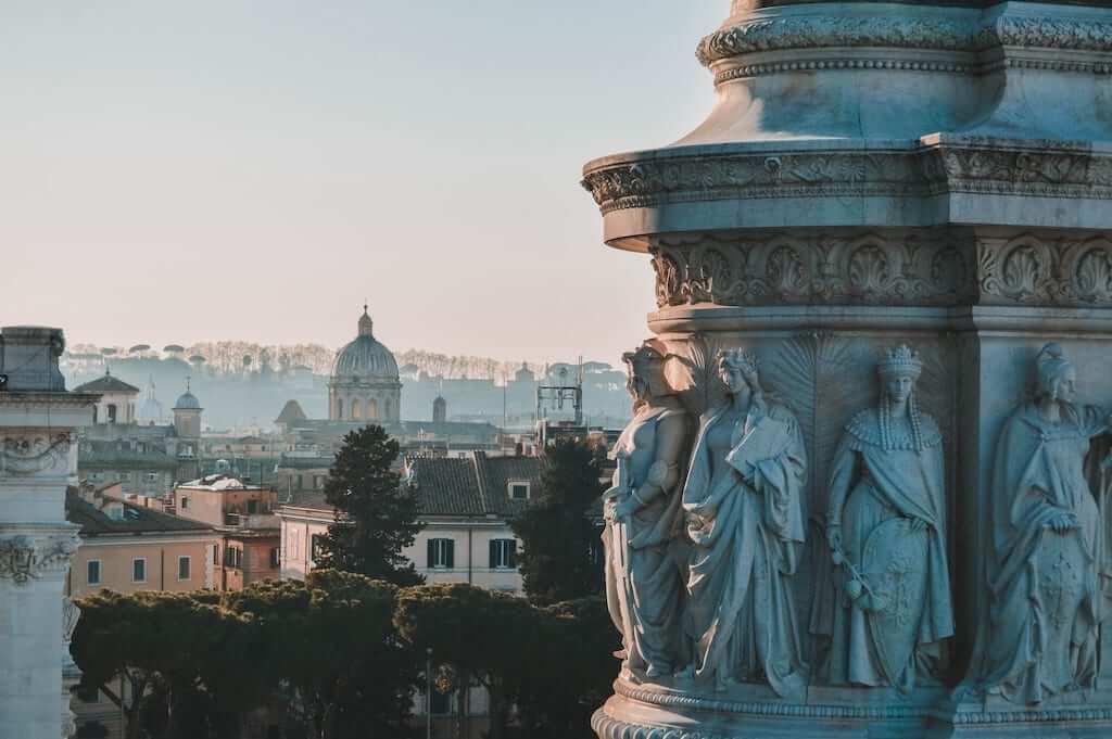 roman monument italy