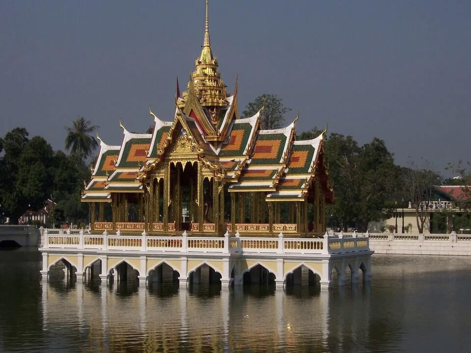 royal palace in thailand