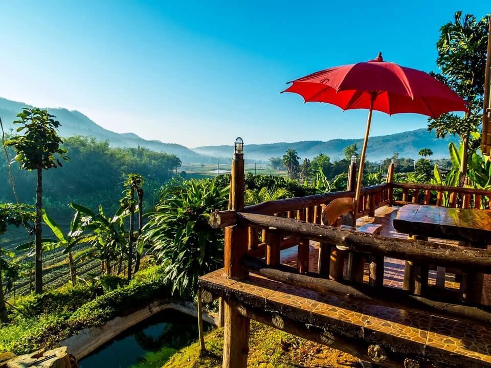 rural thailand countryside