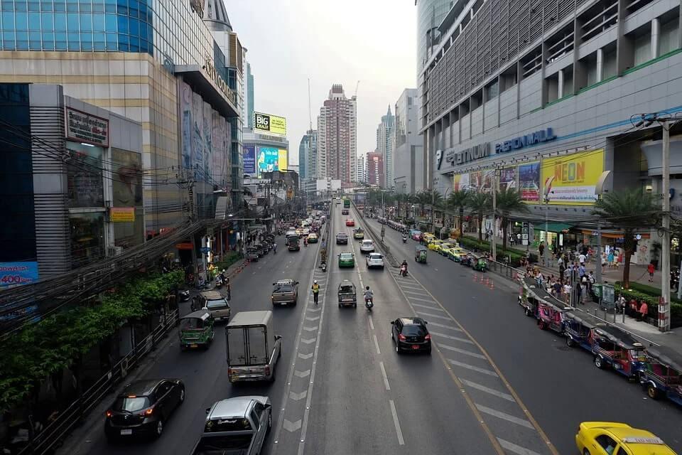 shopping streets bangkok