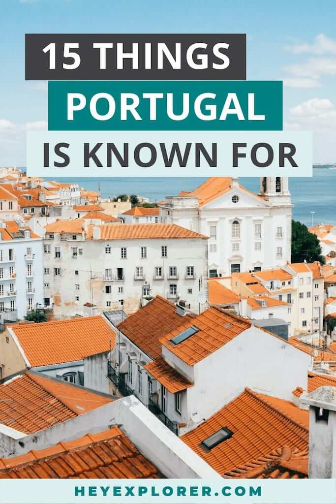 things portugal is famous for