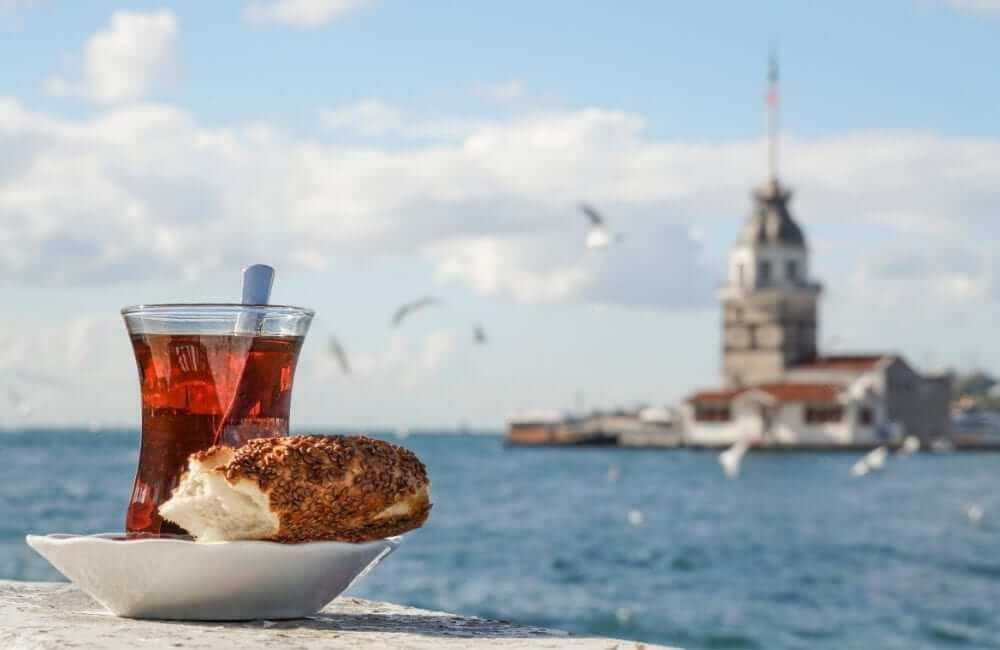 turkish tea bosphorus