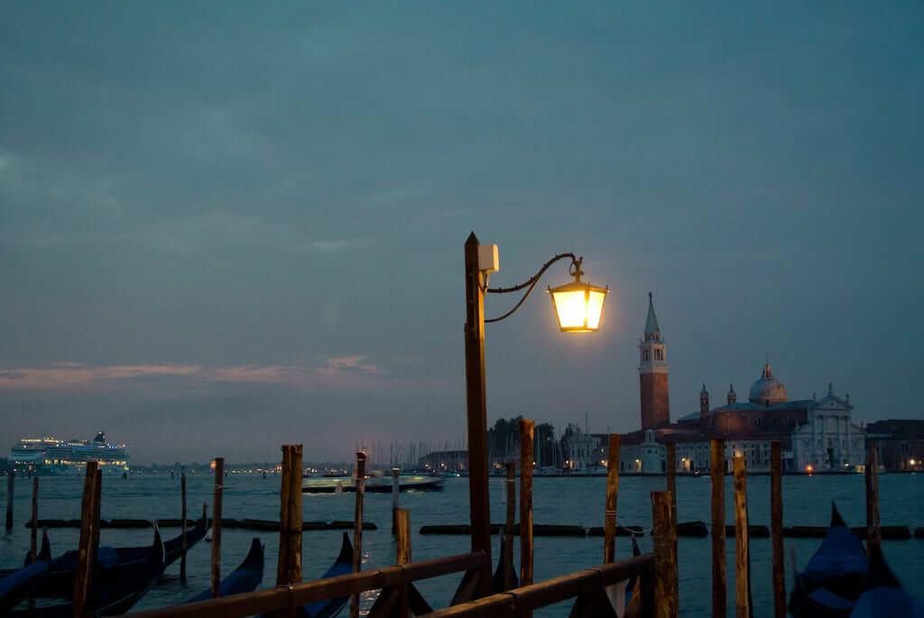 View of San Giorgio Maggiore from Venice