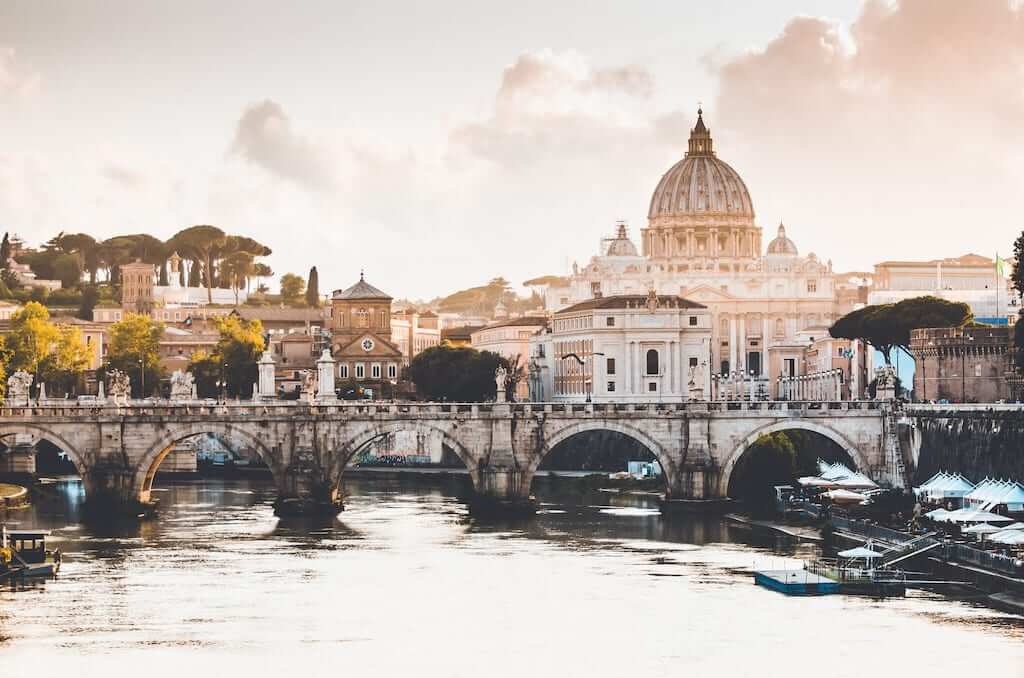 The Vatican City in the heart of Rome