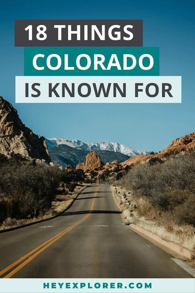 what is colorado known for