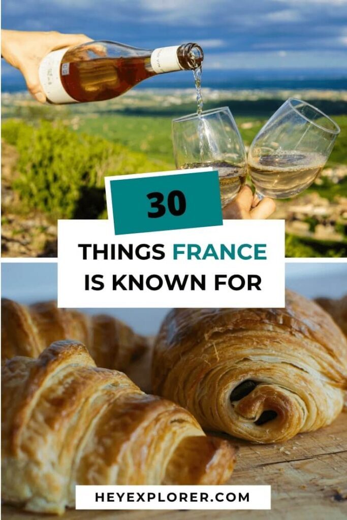 what is france known for
