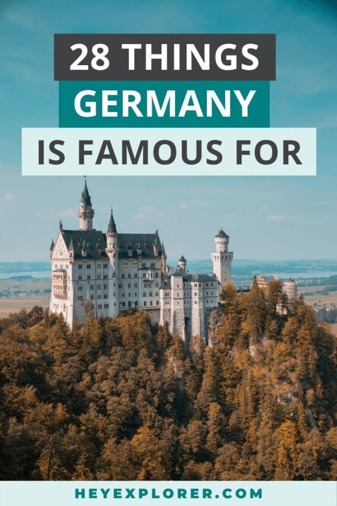 what is germany famous for