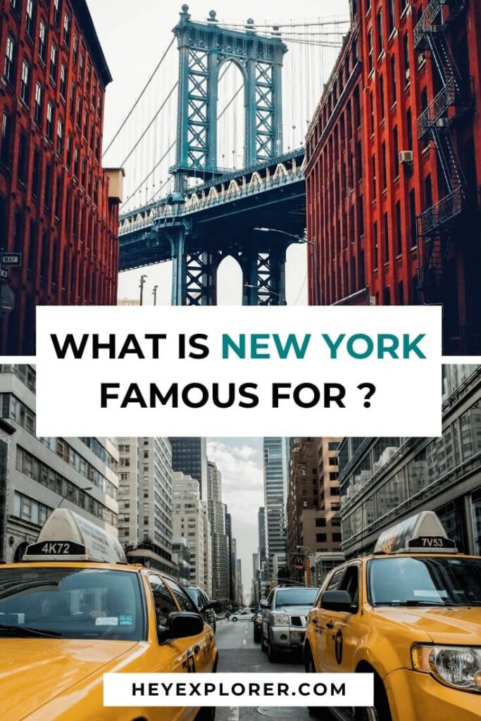 what is new york famous for