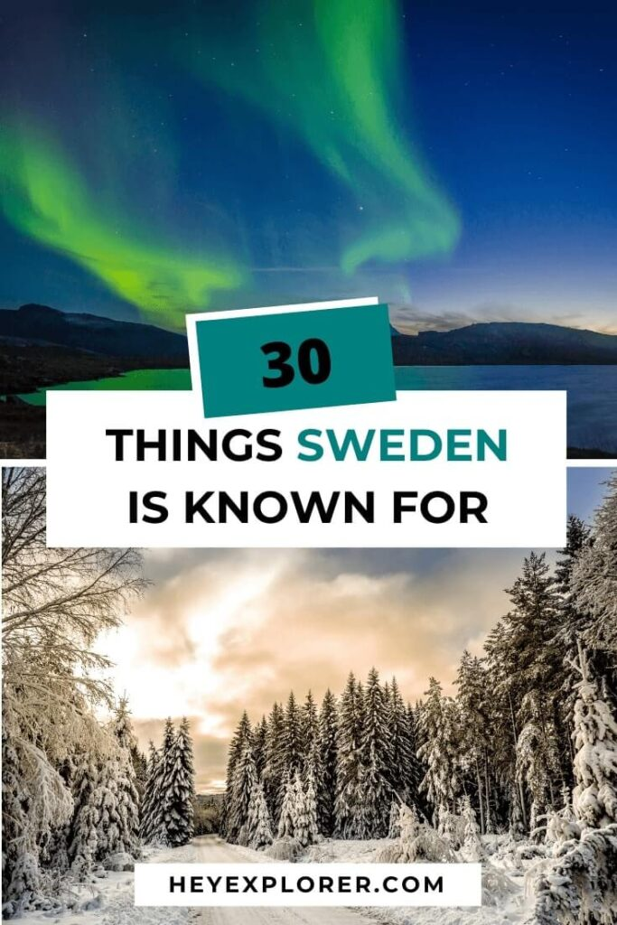 what is sweden known for