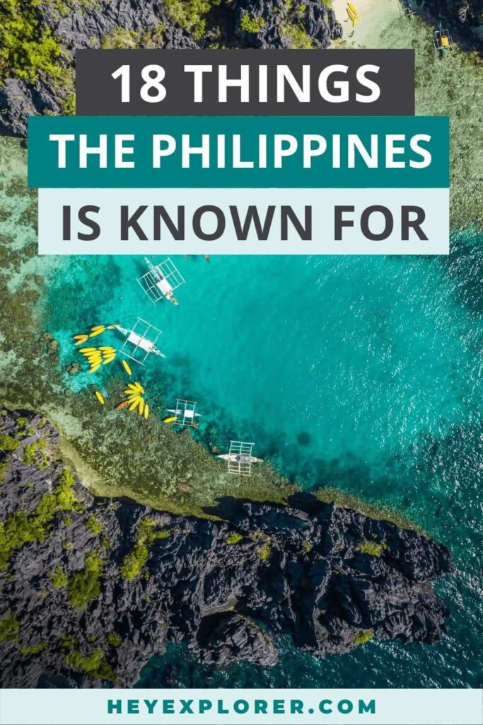 what is the philippines known for