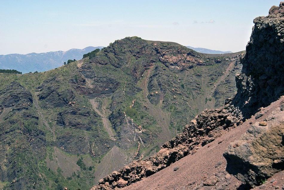 view of Mt. Vesuvius