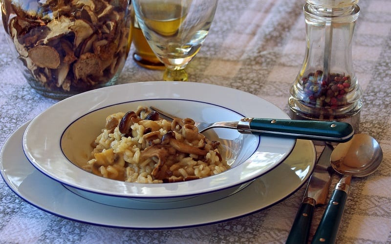 what is italy known for? risotto