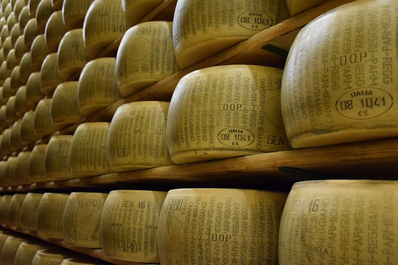 italy is famous for its cheese