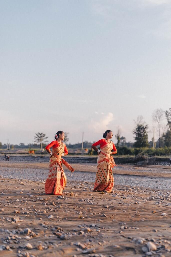 Bihu Dance in Assam