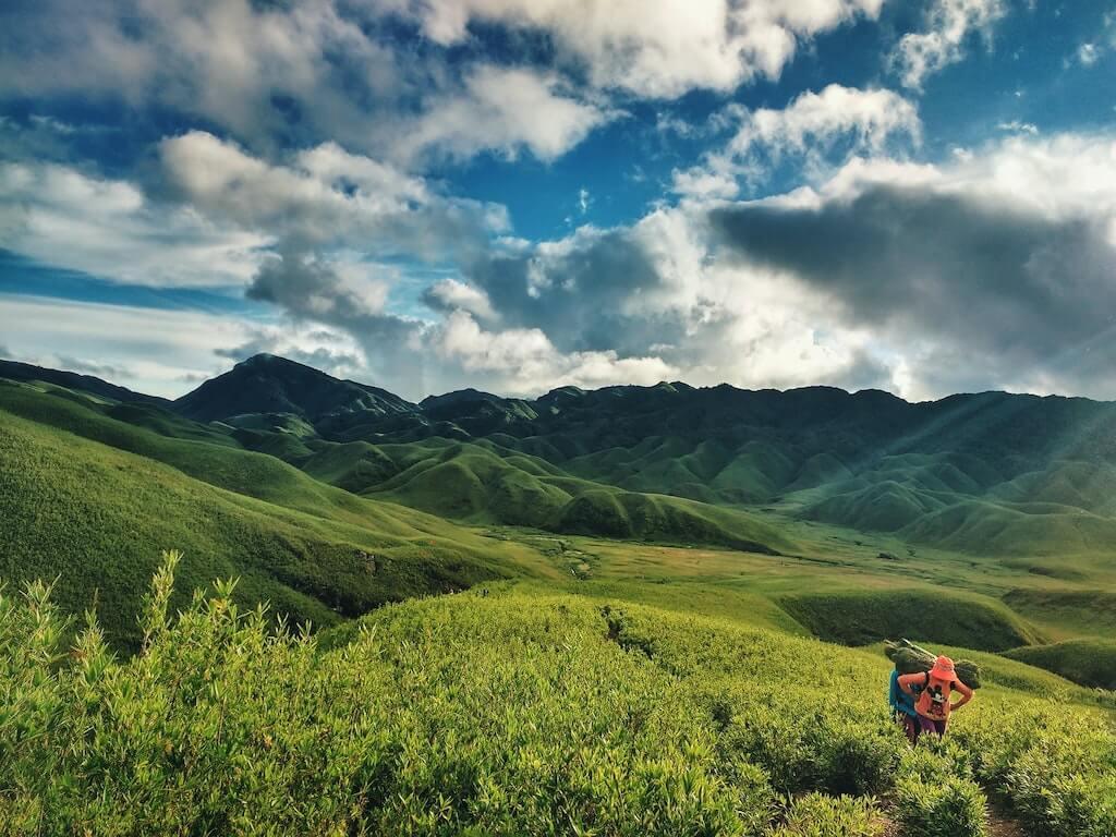 Dzükou valley india