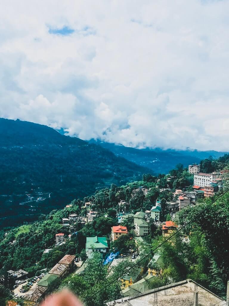 Shillong hillside