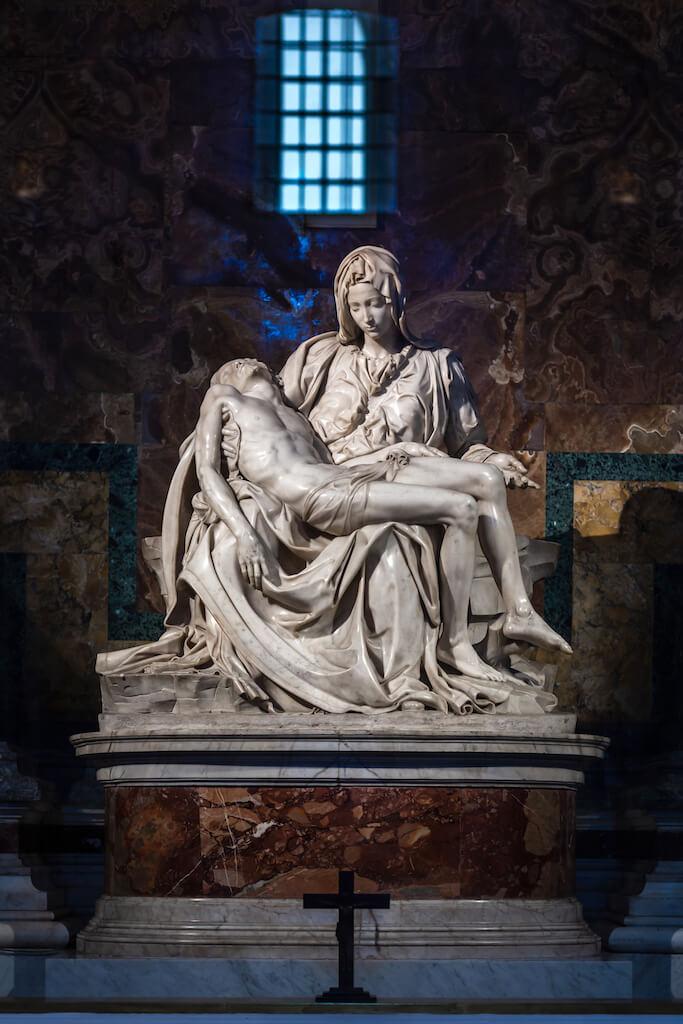 The Pietà, a sculpture by Michelangelo