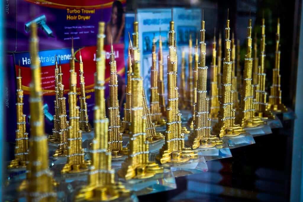 burj khalifa souvenir