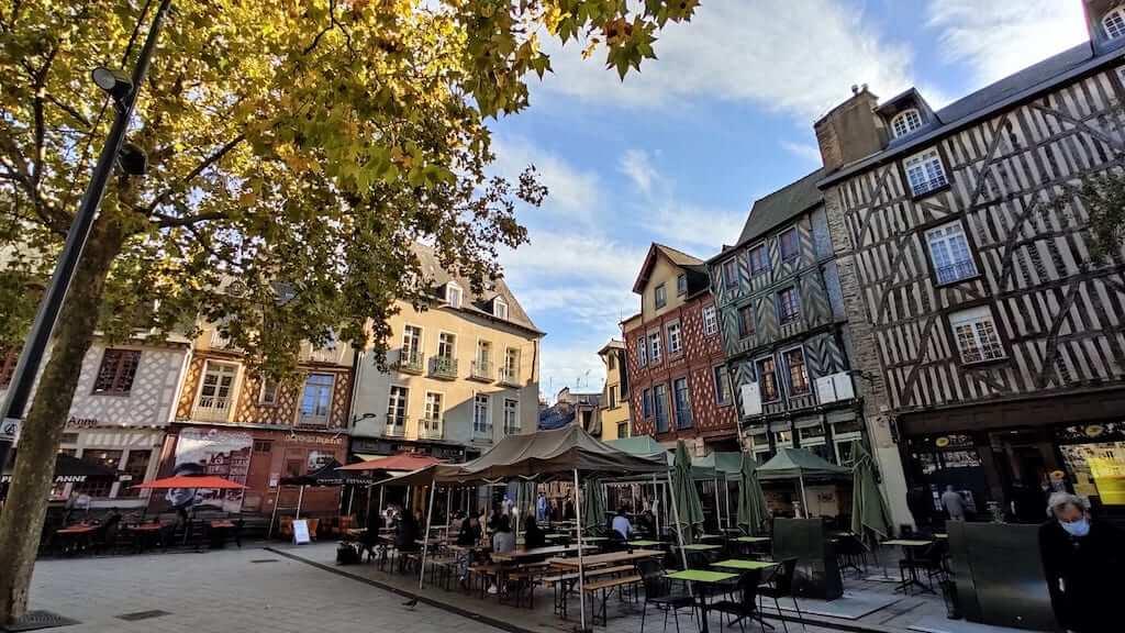 historic center rennes