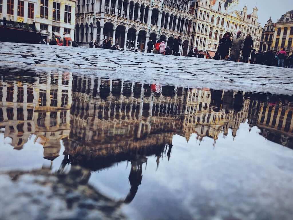 la grand place belgium