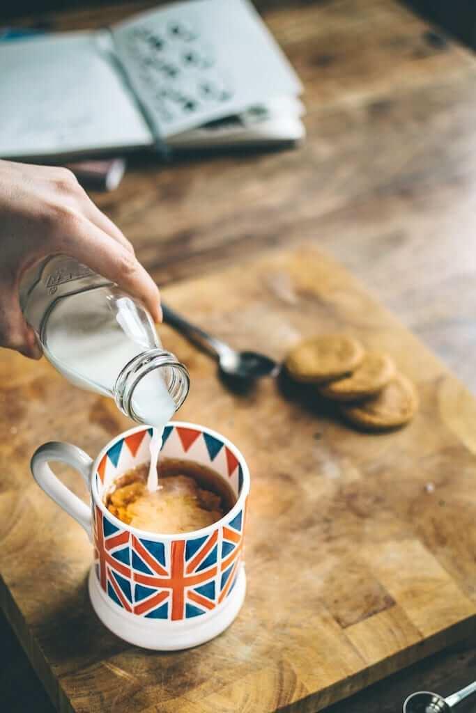 london milk tea