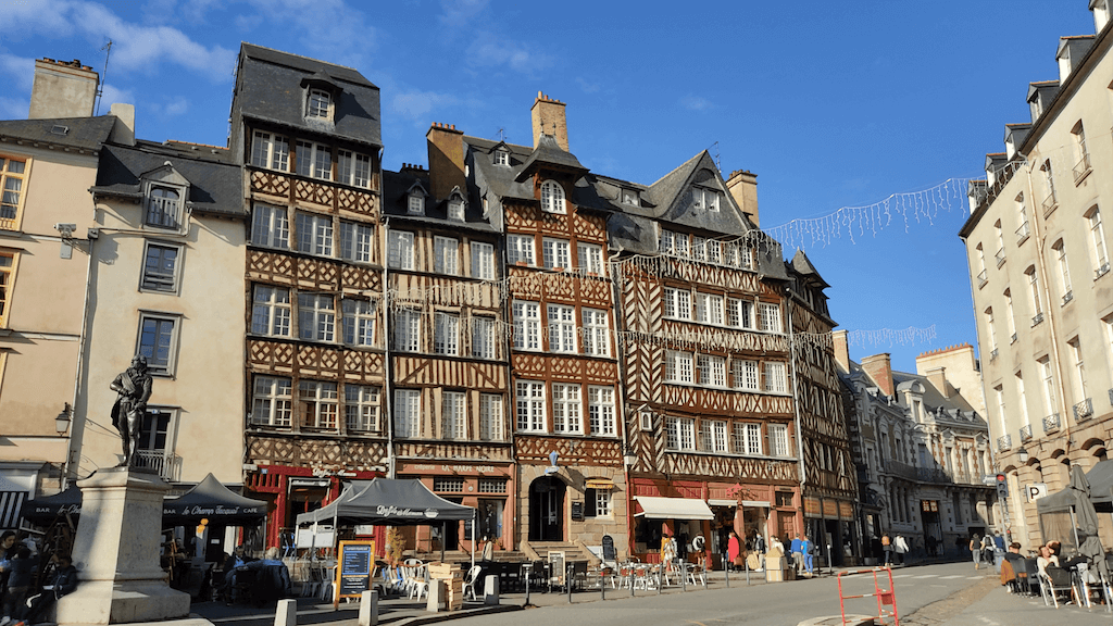 old houses rennes